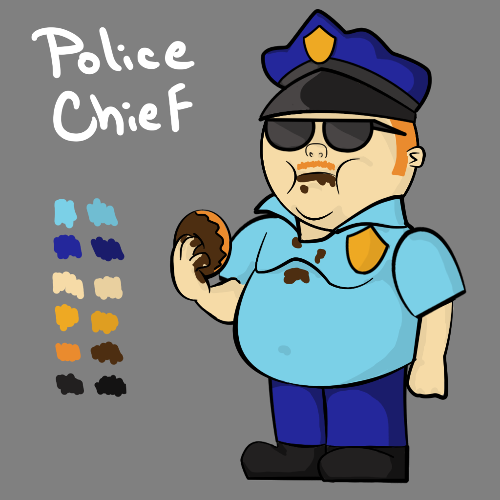 Police Chief Concept Art