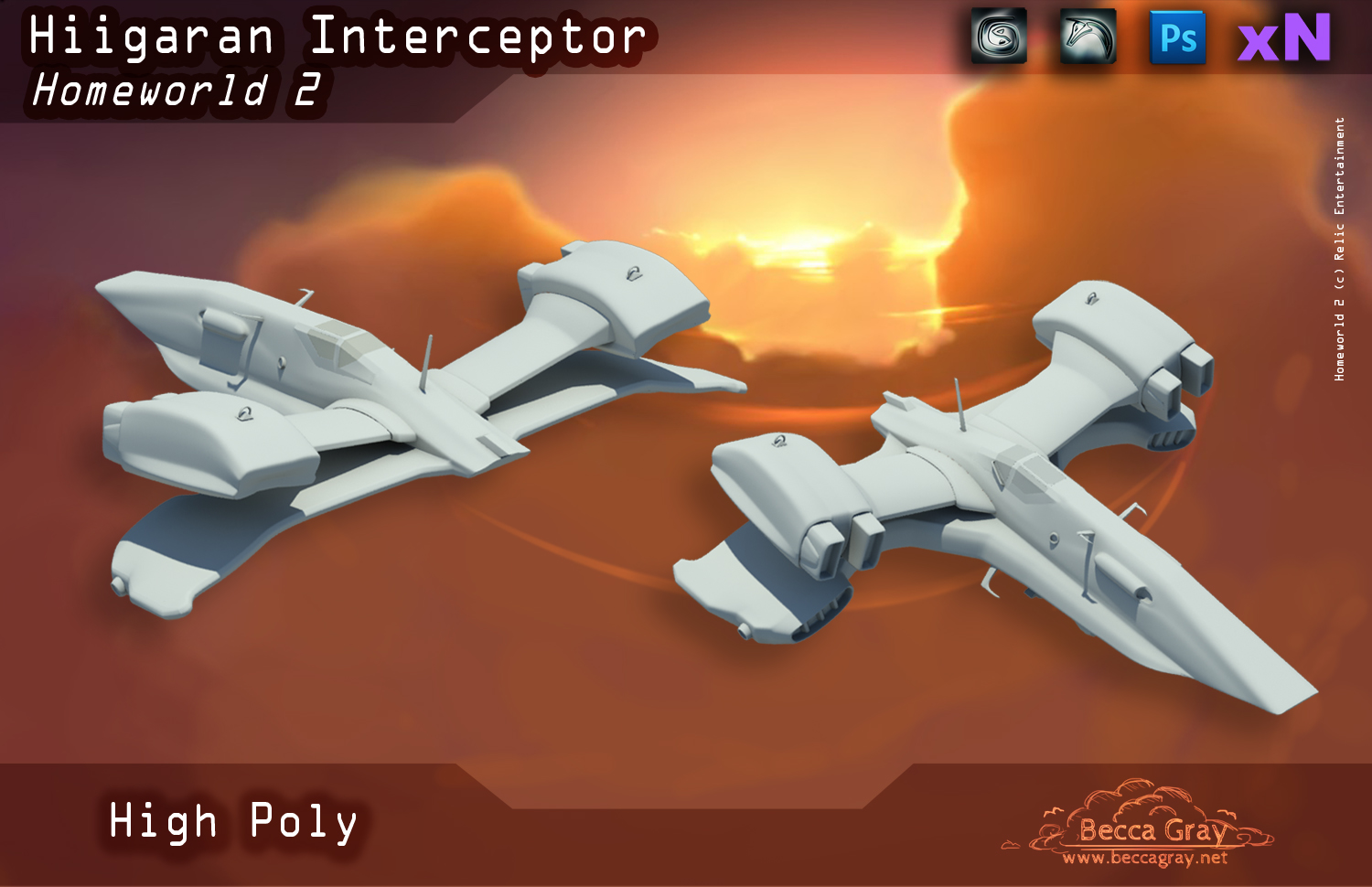 Interceptor High Poly