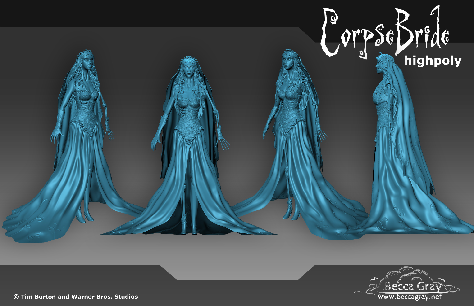 Corpse Bride Render Sheet