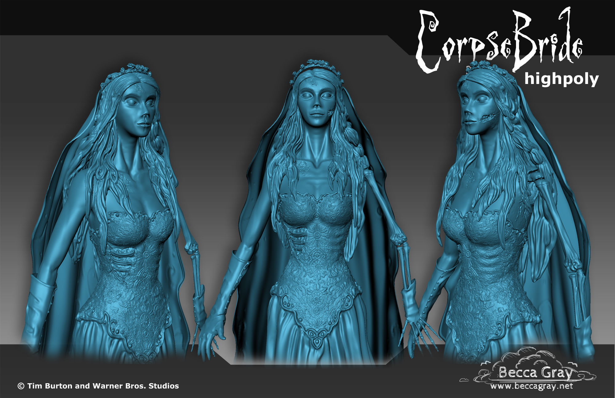 Corpse Bride Render Sheet 3
